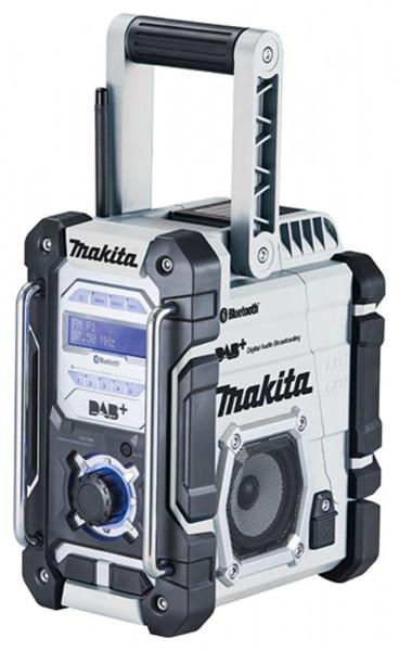 Makita DMR112W Akku-Baustellenradio weiß