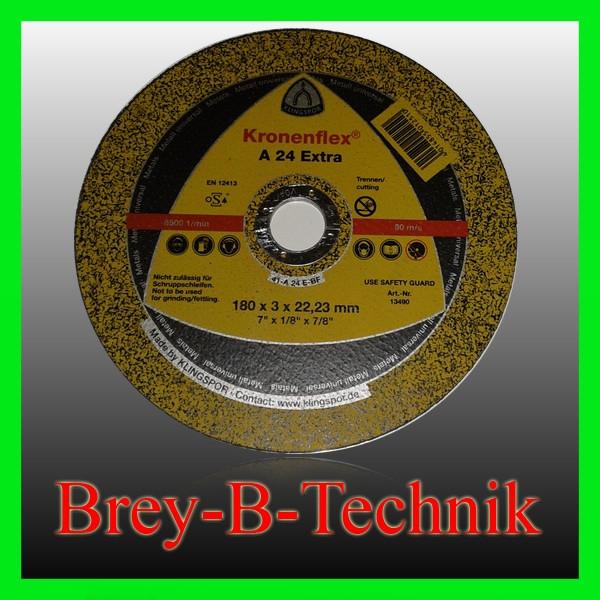 Schruppscheibe Metall 125Ø 6 mm