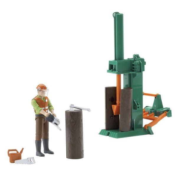 Bruder Holzspalter Zubehörset Forstwirtschaft  0720 2099