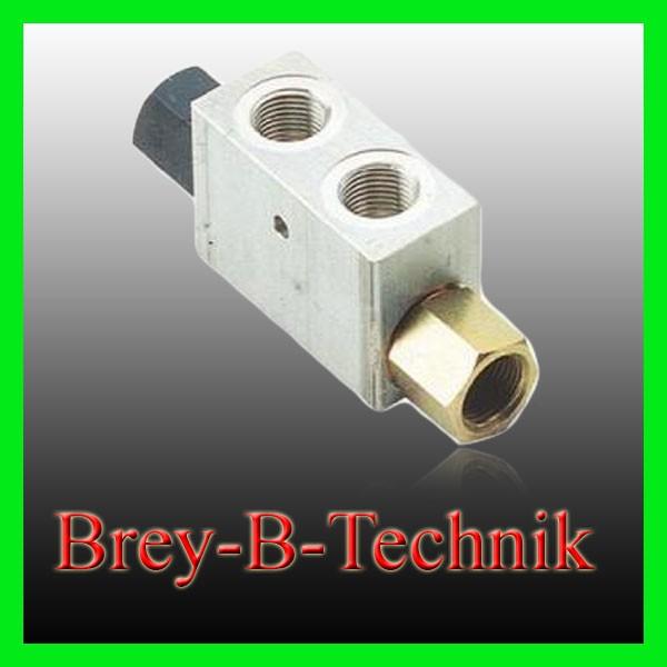 Rückschlagventil - 35l/min, Sperrblock hydraulisch entsperrbar