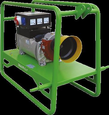 EY-16TC Zapfwellenstromerzeuger Stromgenerator Energy, 16kVA, 3000rpm