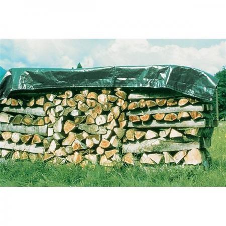 3x4m 140g/m² Holz-Abdeckplane Qualitätsplane von Windhager, UV-stabilisiert