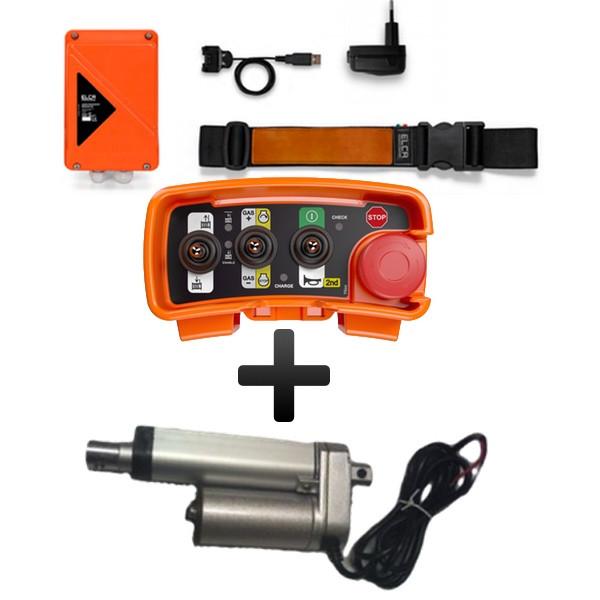AKTION: Forstfunk Funkfernsteuerung ELCA E1 PIC KFW inkl. Gasstellmotor