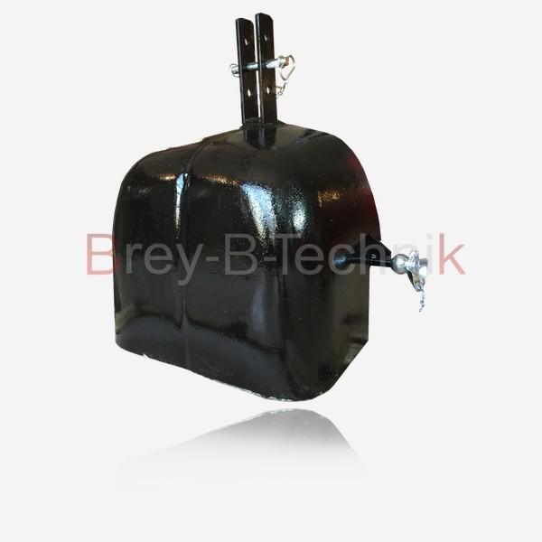 Schleppergewicht Frontgewicht Heckgewicht 525 KG Schwarz Traktor