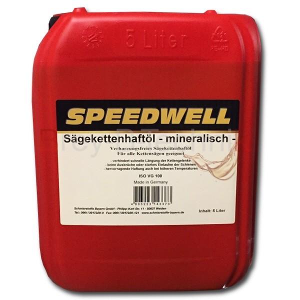 Sägeketten - Öl  5 Liter, Kettenhaftöl