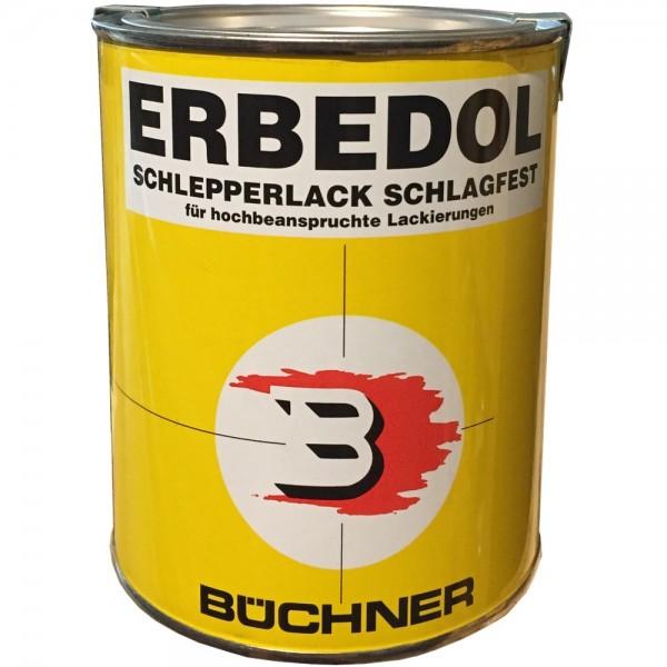 JOHN DEERE SCHWARZ MATT 9081 Büchner Erbedol Lack Kunstharzlack Farbe  750ml