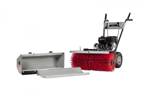 Kehrmaschine KM800 (3in1 Set) inkl. Schneeschild und Sammelbehälter