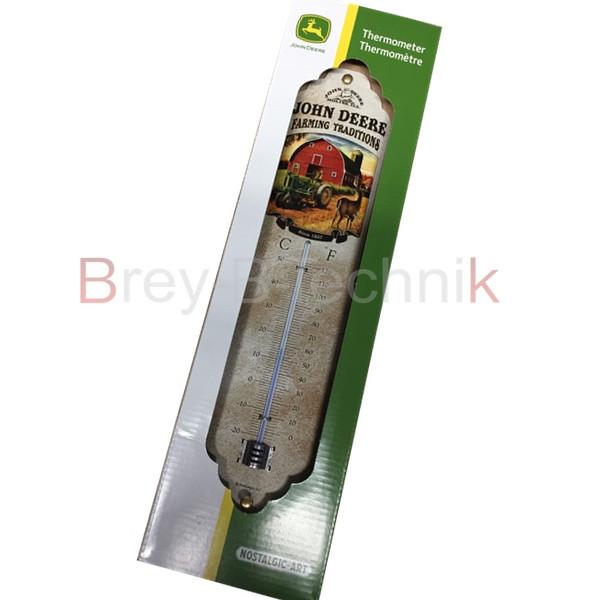 TTF8147 Thermometer JD mit Bauernhof