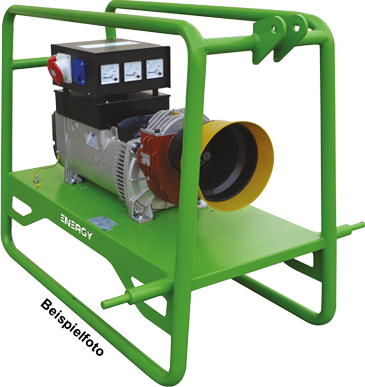 EY-6TC Zapfwellenstromerzeuger Stromgenerator Energy, 6kVA, 3000rpm