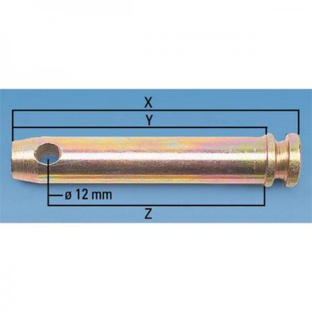 Oberlenkerbolzen 25mm
