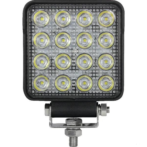 LED-Arbeitsscheinwerfer 25W 3040lm -Spot Beam 12V 24V Zusatzscheinwerfer Flutlicht Nahfeldausleuchtung Rückscheinwerfer