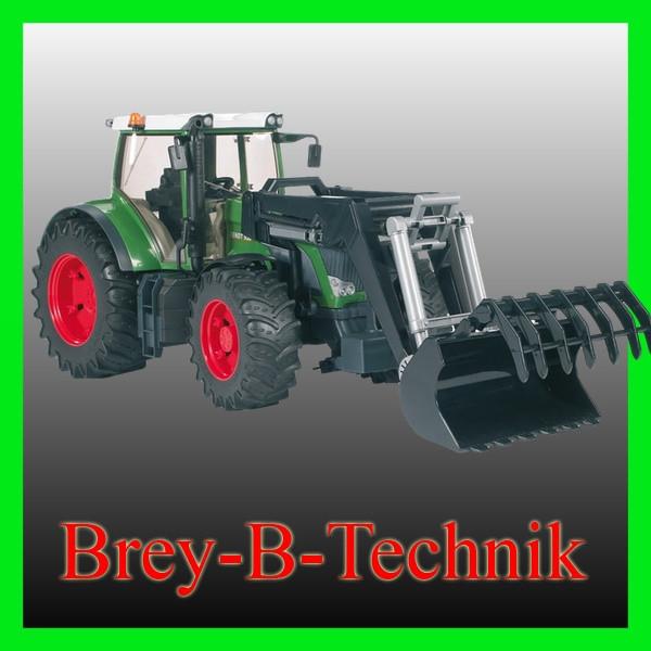 BRUDER 03041 Fend 936 Vario mit Frontlader Traktor       0220 2083
