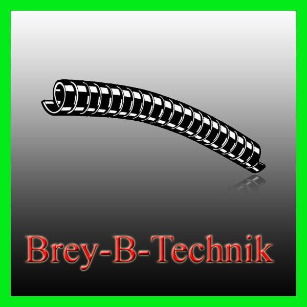 Spiralschlauch, Scheuerschutz aus PVC für Hydraulikschläuche