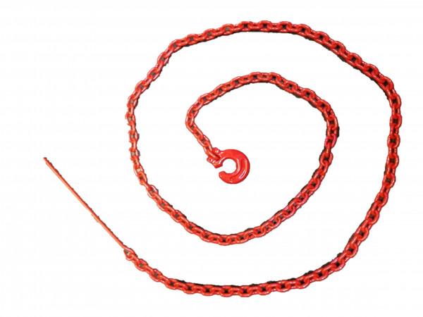 Chokerkette Würgekette mit Nadel, Güte 8, 6mm Ø, 2500 mm  / Nutzlast 2,2t