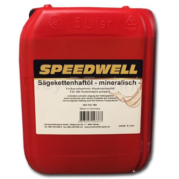 4 x 5 Liter Sägekettenhaftöl