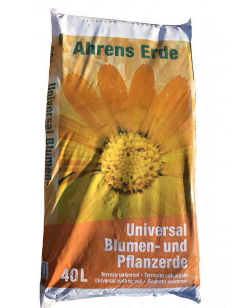 Ahrens Blumenerde 40L orange   0520 6116