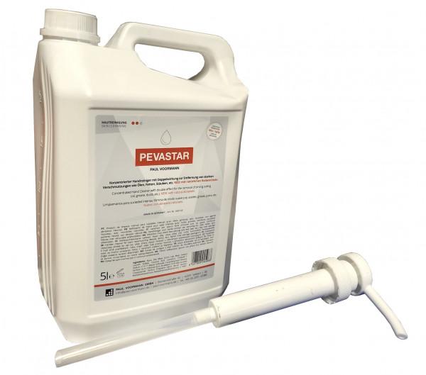 Handwaschpaste Handreiniger Pevastar 5L + Pumpe