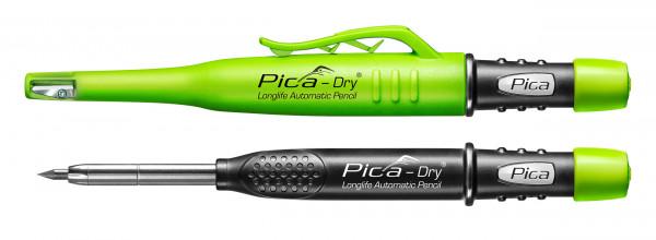 Tieflochmarker Pica DRY mit Spitzer+Cliphalterung