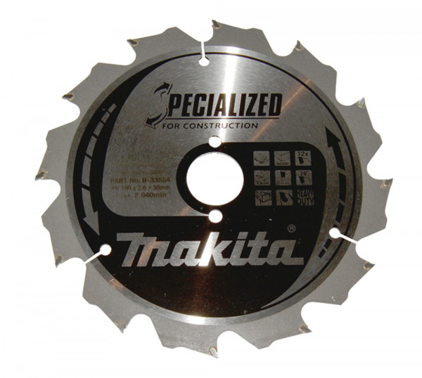 Makita B-33554 SPECIALIZED Sgeb.190x30x 8248 0621