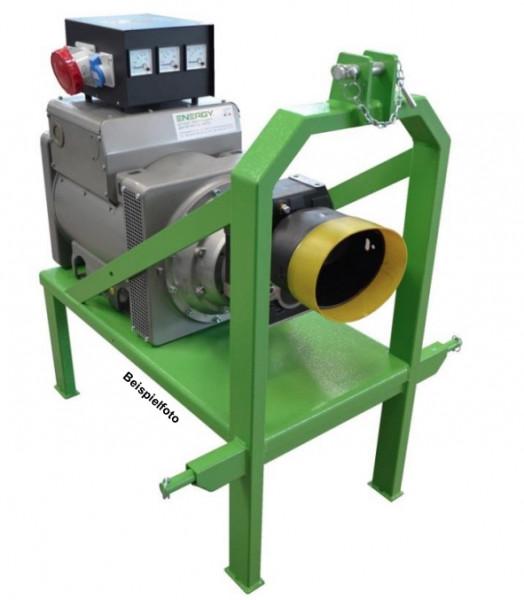 Zapfwellenstromerzeuger Stromgenerator Energy EY-50TCS-AVR, 50kVA, 1500rpm, Spngs.regler