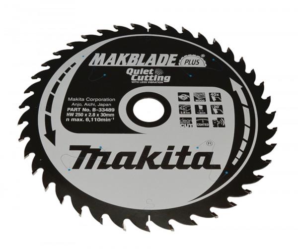 Makita B-33489 MAKBLADE+ Sgeb. 250x30x4 8251 0621
