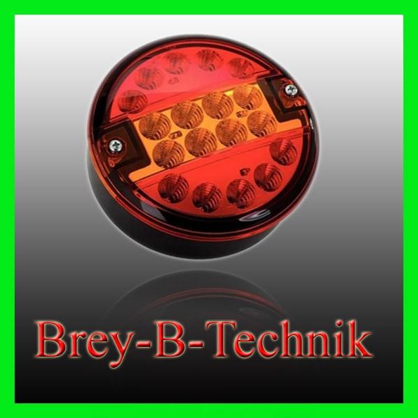 KFZ LED Schluss-Brems-Blinklleuchte