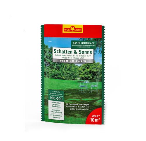 Wolf-Garten Premium-Rasen Schatten&Sonne 10qm   0521 5032