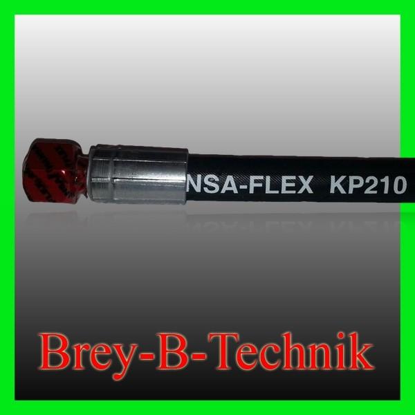 Hydraulikschlauch 700mm NW 10 inkl. 2x 12L