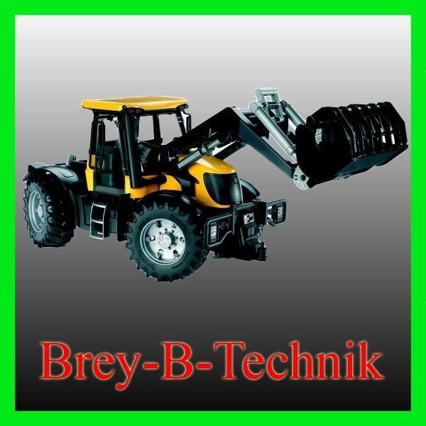 BRUDER 03031 JCB Fastrac 3220 mit Frontlader Traktor
