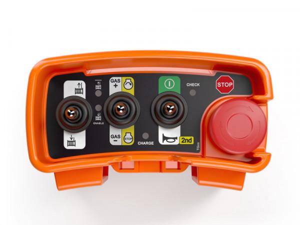 Forstfunk Fernsteuerrung ELCA E1 PIC für Oehler steckerfertig verdrahtet 7.pol
