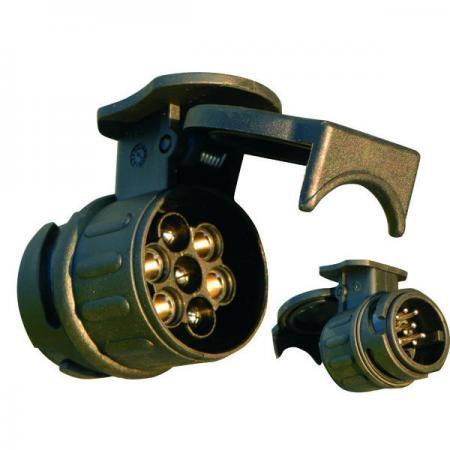 1Adapter PVC, 12 V, 13-7 polig  0420 1854